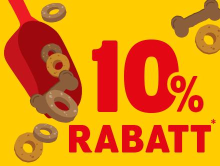 10 Prozent Rabatt