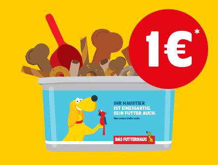 FUTTERBOX für 1 Euro